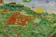 map of Vilcabamba