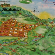 map of Vilcabamba