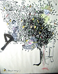 Drawing by Aneli Munteanu