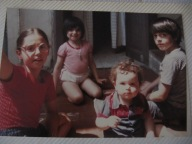 My siblings and I, many years ago