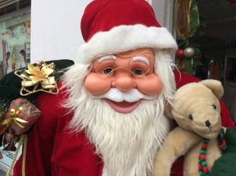 Santa had botox in Loja